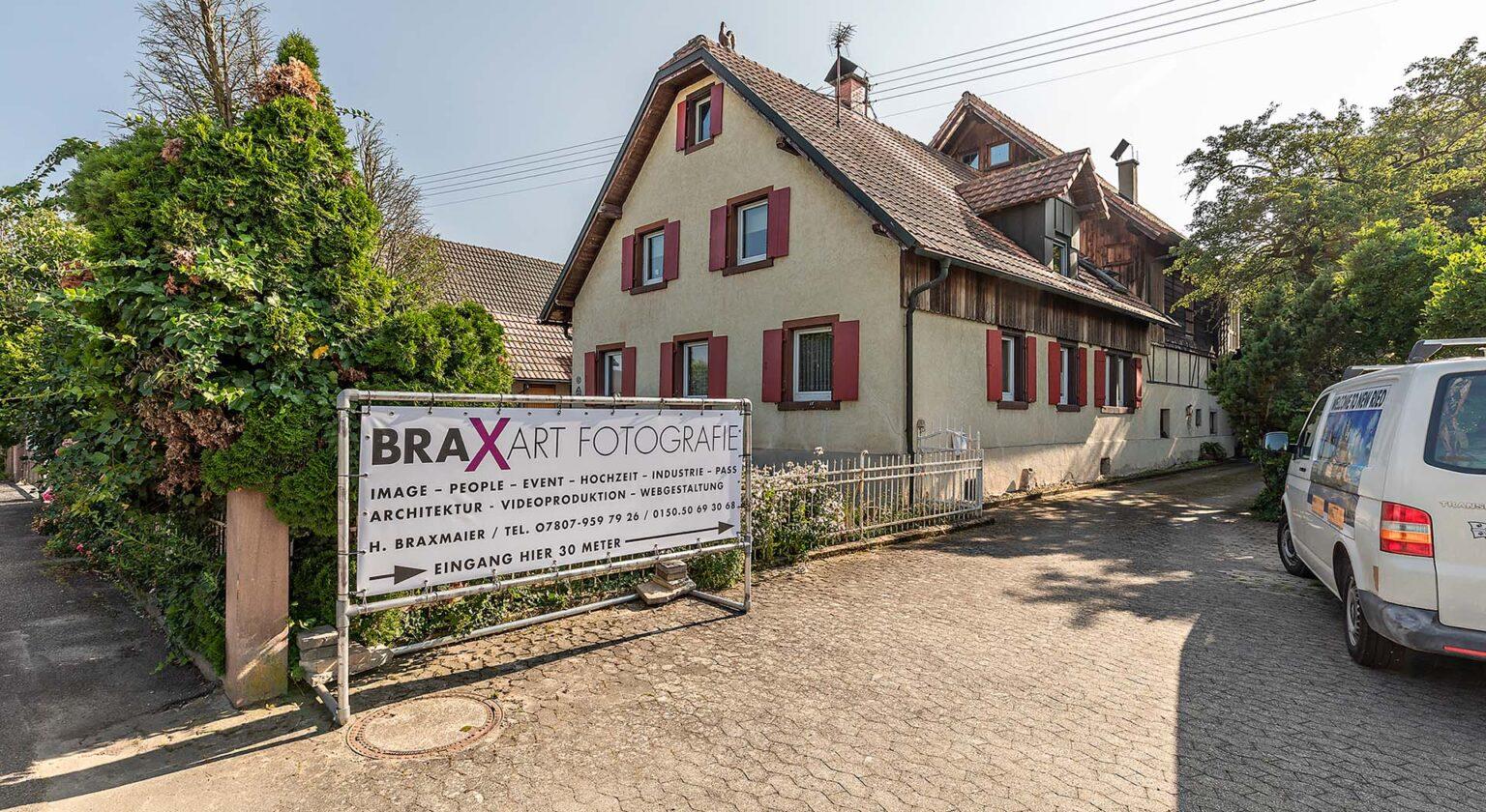 Fotograf Hubert Braxmaier Aussenansicht des Studios
