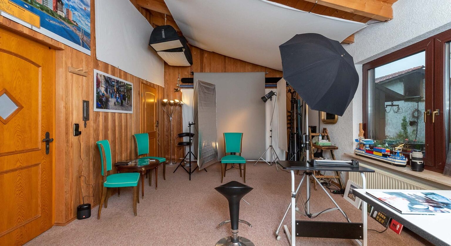 Fotograf Hubert Braxmaier Innenaufnahme des Studios