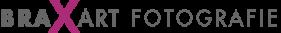 Logo als Schriftzug in grau magenta